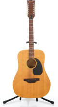Musical Instruments:Acoustic Guitars, 1969 Gibson Blue Ridge Second Natural 12 String Acoustic Guitar#898797....