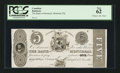 Canadian Currency: , Montreal, PQ- Bank of Montreal $5 June 1, 183x Ch. # 505-12-14-18P....