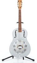 Musical Instruments:Acoustic Guitars, National F6 Silver Acoustic Guitar #N/A....