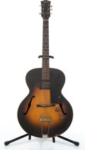 Musical Instruments:Electric Guitars, 1950's Gibson ES125 Project Sunburst Archtop Electric Guitar#N/A....