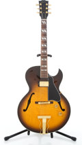 Musical Instruments:Electric Guitars, 1999 Gibson Herb Ellis E-165 Sunburst Semi-Hollow Body ElectricGuitar #93149507....