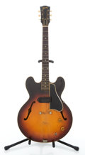 Musical Instruments:Electric Guitars, Circa 1959 Gibson ES330T Project Sunburst Semi-Hollow Body Electric Guitar #S1022244....