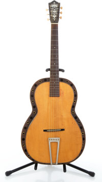 1930's Paramount Style L Natural Resonator Guitar #109