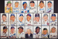 Baseball Collectibles:Others, Baseball Notables Signed Perez Steele Postcards Lot of 20 - WithMickey Mantle!...