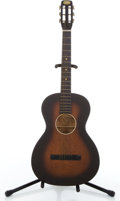 Musical Instruments:Lap Steel Guitars, Vintage Oahu Sunburst Slide Acoustic Guitar #N/A....