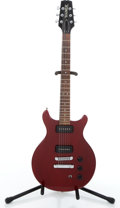 Musical Instruments:Electric Guitars, Hamer Special Cherry Solid Body Electric Guitar #333414....