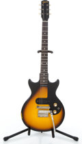Musical Instruments:Electric Guitars, 1964 Gibson Melody Maker Sunburst Solid Body Electric Guitar#209255.. ...