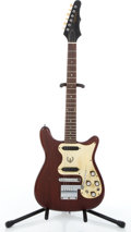 Musical Instruments:Electric Guitars, 1961 Epiphone Coronet Cherry Solid Body Electric Guitar #004378....