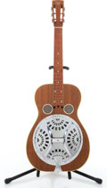 Musical Instruments:Resonator Guitars, Vintage Dobro Teak Resonator Guitar #N/A....