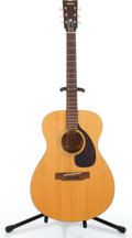 Musical Instruments:Acoustic Guitars, 1970's Yamaha FG-110 Natural Acoustic Guitar #N/A....