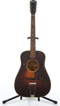 Musical Instruments:Acoustic Guitars, 1943-47 Gibson LG-1 Project Sunburst Acoustic Guitar #443....