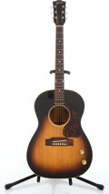 Musical Instruments:Acoustic Guitars, 1965 Gibson LG-1 Modified Sunburst Acoustic Electric Guitar#284527....