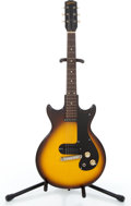 Musical Instruments:Electric Guitars, 1961 Gibson Melody Maker 3/4 Sunburst Solid Body Electric Guitar #25682....