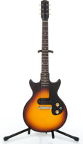 Musical Instruments:Electric Guitars, 1963 Gibson Melody Maker Sunburst Solid Body Electric Guitar#128597....