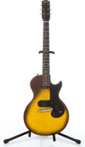 Musical Instruments:Electric Guitars, 1968 Gibson Melody Maker Sunburst Solid Body Electric Guitar #924988....