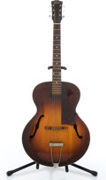 Musical Instruments:Acoustic Guitars, 1930's Gibson L-4 Sunburst Archtop Acoustic Guitar #N/A....