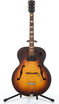 Musical Instruments:Electric Guitars, Vintage Gibson Project Sunburst Semi-Hollow Body Electric Guitar #X7445....
