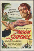 """Movie Posters:Drama, The Moon and Sixpence (United Artists, 1942). One Sheet (27"""" X 41""""). Drama.. ..."""