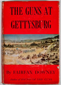 Books:First Editions, Fairfax Downey. The Guns at Gettysburg. New York: DavidMcKay, [1958]. First edition. Octavo. Publisher's binding an...