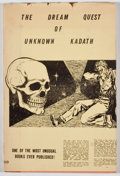 Books:First Editions, H. P. Lovecraft. LIMITED. The Dream Quest of Unknown Kadath.Buffalo: Shroud, 1955. First edition, first printing, ...