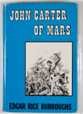 Books:Fiction, Edgar Rice Burroughs. John Carter of Mars. New York:Canaveral Press, 1964. First Canaveral edition. Octavo. Publish...