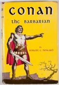 Books:First Editions, Robert E. Howard. Conan the Barbarian. New York: GnomePress, [1954]. First edition. Octavo. Publisher's binding and...