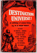 Books:First Editions, A. E. van Vogt. Destination: Universe! New York: Pelligrini& Cudahy, [1952]. First edition. Octavo. Publisher's bin...