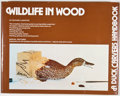 Books:First Editions, Richard Le Master. Wildlife in Wood. Chicago: ContemporaryBooks, [1978]. First edition. Quarto. Publisher's binding...