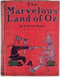Books:Children's Books, L. Frank Baum. The Marvelous Land of Oz. Chicago: Reilly& Britton, 1904. First edition, second issue. Octavo. Publi...