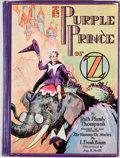 Books:Children's Books, Ruth Plumly Thompson. The Purple Prince of Oz. Chicago:Reilly & Lee, [1932]. Octavo. Publisher's binding. Ill...