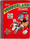 Books:Children's Books, The Wonderland Annual 1926 for Boys and Girls. London:Playtime, [1926]. Octavo. Publisher's binding. Color plates.Good...