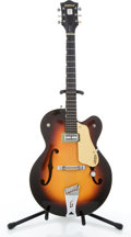 Musical Instruments:Electric Guitars, 1958 Gretsch Anniversary Model Sunburst Semi-Hollow Body Electric Guitar #29624....