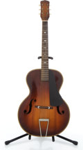 Musical Instruments:Acoustic Guitars, Vintage Harmony / Kay Sunburst Archtop Acoustic Guitar #N/A....