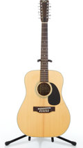 Musical Instruments:Acoustic Guitars, Fender F-55-12 Natural 12 String Semi-Hollow Body Electric Guitar#N/A....