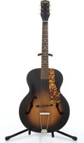 Musical Instruments:Acoustic Guitars, Vintage Playtime Sunburst Archtop Acoustic Guitar #856 265...