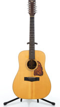 Musical Instruments:Acoustic Guitars, 1980's Tama TG-120-12 Natural 12 String Acoustic Guitar#81001080....