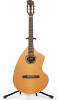 Musical Instruments:Acoustic Guitars, 1974 Giannini AWKNG Natural Classical Guitar #11-1974....