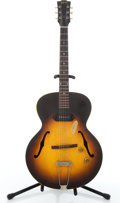 Musical Instruments:Electric Guitars, Vintage Gibson ES 125 Sunburst Semi-Hollow Body Electric Guitar #N/A....