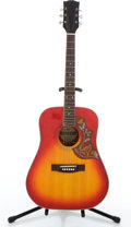 Musical Instruments:Acoustic Guitars, Hyostar SJ-975 Humming Bird Cherry Burst Acoustic Guitar #N/A....