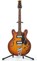 Musical Instruments:Electric Guitars, Ovation Tornado Sunburst Semi-Hollow Body Electric Guitar #N/A...