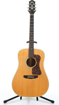 Musical Instruments:Acoustic Guitars, 1990 Guild D-50 Natural Acoustic Guitar #D500541....
