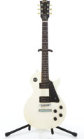 Musical Instruments:Electric Guitars, 1987 Gibson Les Paul Studio White Solid Body Electric Guitar#81817526....