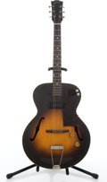 Musical Instruments:Electric Guitars, Vintage Gibson ES125 Sunburst Semi-Hollow Body Electric Guitar#Z2497 23....