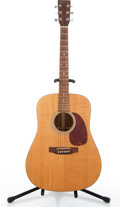 Musical Instruments:Acoustic Guitars, Reissue Martin Natural Acoustic Guitar #N/A....