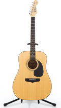 Musical Instruments:Acoustic Guitars, 1990's Fender Concord Natural Acoustic Guitar #91222402....