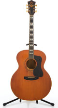 Musical Instruments:Acoustic Guitars, 1976 Guild F-50 Jumbo Project Orange Acoustic Guitar #142145....