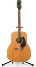 Musical Instruments:Acoustic Guitars, Vintage Gretsch 7515 Sun Valley Natural Acoustic Guitar#10.5117....