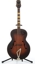 Musical Instruments:Acoustic Guitars, 1952 Gretsch Synchromatic Sunburst Archtop Acoustic Guitar #5009....