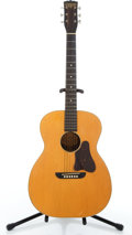 Musical Instruments:Acoustic Guitars, Vintage Washburn 5257 Natural Acoustic Guitar #641....