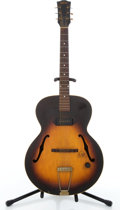 Musical Instruments:Electric Guitars, Vintage Gibson ES125 Sunburst Archtop Electric Guitar #N/A....